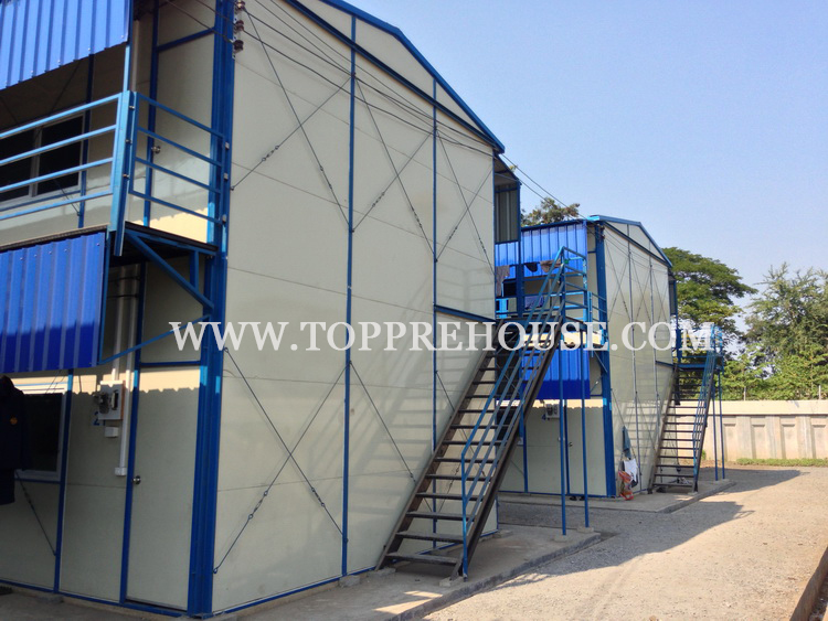 Sandwich Panel House for Dormitory in Thailand