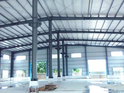 Steel structure workshop in the Philippines