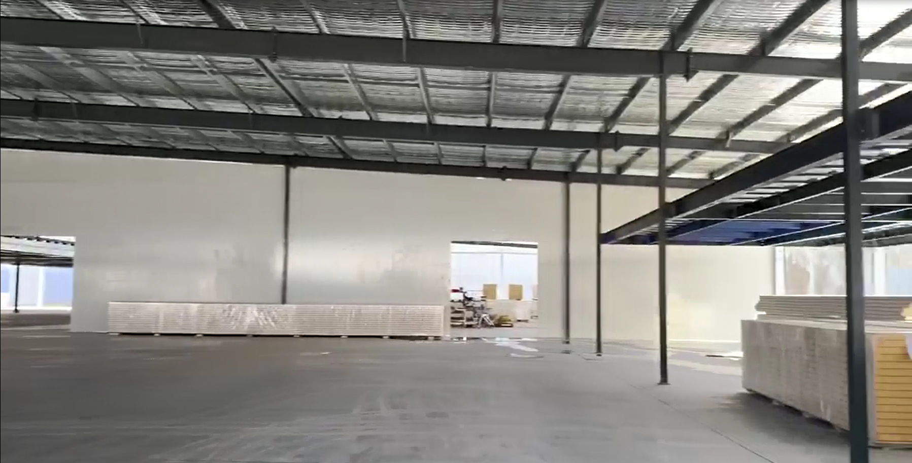 Steel structure project in Australia